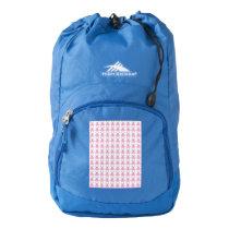 Funny Pink Easter Bunnies High Sierra Backpack