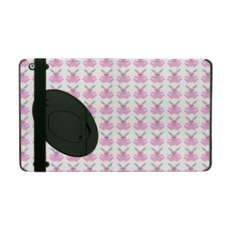 Funny Pink Easter Bunnies iPad Cases