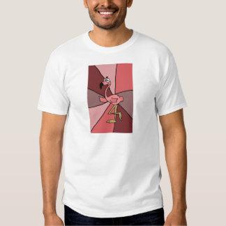 Funny Pink Flamingo Art T-shirt