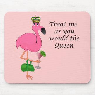 Funny Pink Flamingo Mousepad