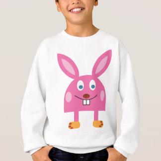 Funny Pink Rabbit Sweatshirt