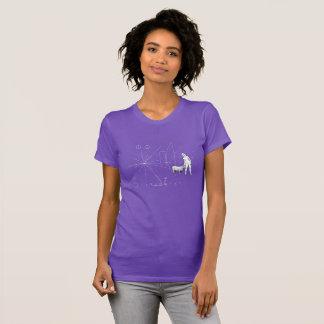 Funny Pioneer plaque single woman T-Shirt