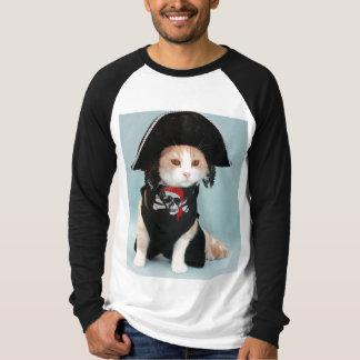 Funny Pirate Cat T-Shirt