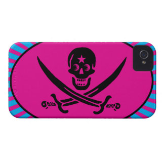 Funny Pirate Deluxe Case-Mate iPhone 4 Cases
