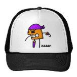 Funny pirate Halloween Trucker Hat
