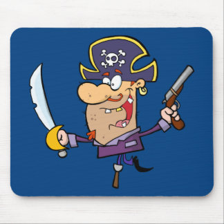 Funny Pirate Mouse Pad
