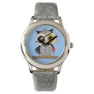 funny pirate owl wristwatches