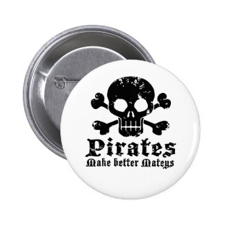 Funny Pirate Pinback Button