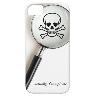 Funny Pirate Skull Crossbones iPhone 5 Case
