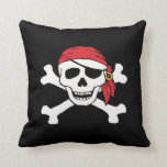 Funny Pirate Throw Pillows