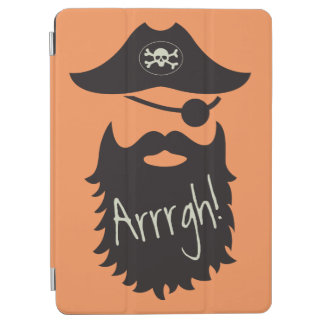 Funny Pirate with Eyepatch Arrrgh! iPad Air Cover