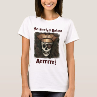 Funny Pirate's Booty T-Shirt