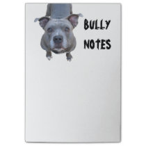 Funny Pitbull Post-it Notes