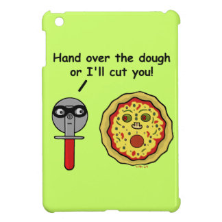 Funny Pizza Cutter Dough Pun iPad Mini Case