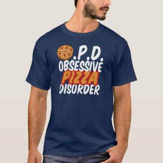 Funny Pizza Dark T-Shirt