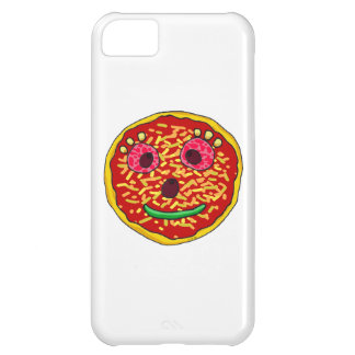 Funny pizza face iPhone 5C cover