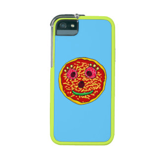 Funny pizza face iPhone 5/5S covers