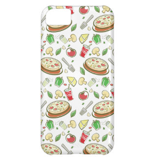 funny pizza pattern vol1 iPhone 5C cover