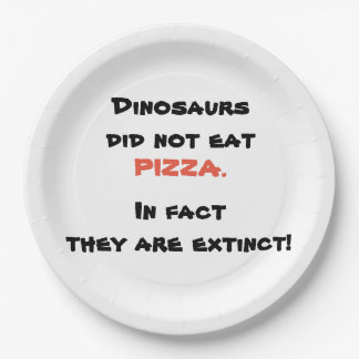 Funny Pizza plate