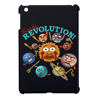 Funny Planet Revolution iPad Mini Cases