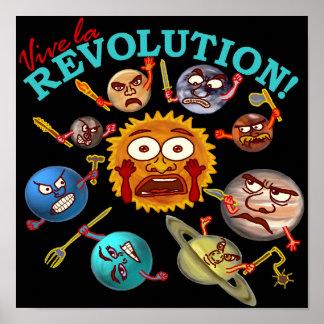 Funny Planet Revolution Poster