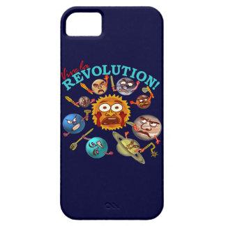 Funny Planet Revolution Solar System Cartoon iPhone 5 Cover