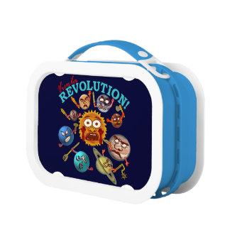 Funny Planet Revolution Solar System Cartoon Yubo Lunchbox