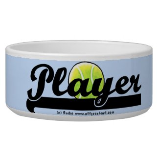 Funny Player Pet Bowl
