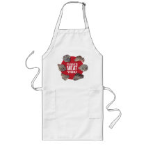 Funny Pleased To Meat You Grilling Apron