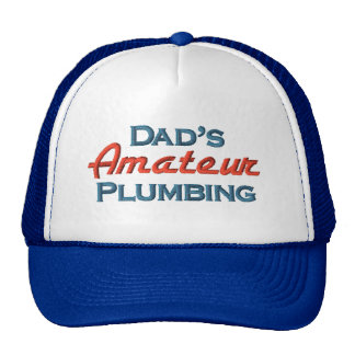 Funny Plumber Trucker Hat