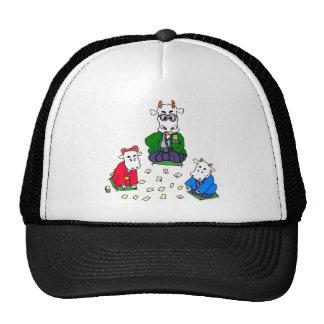 Funny Poker Cow Games Trucker Hat