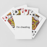 "Funny Poker Deck<br><div class=""desc"">Start off the game with a mental war with the &quot;I&#39;m cheating&quot; text</div>"