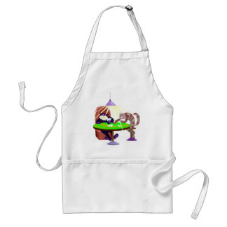 Funny Poker Night Cats Adult Apron