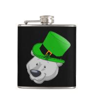 Funny Polar Bear Flask - St Patricks Day Gifts