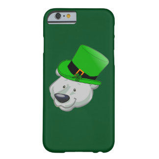 Funny Polar Bear iPhone Case - St Patricks Day Barely There iPhone 6 Case