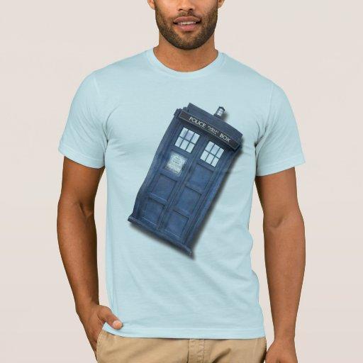 Funny Police Call Box T-Shirt