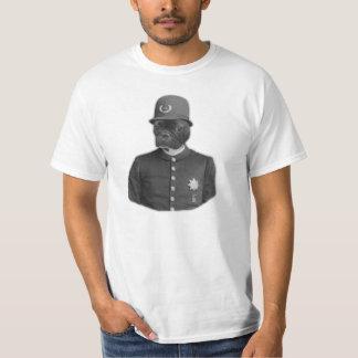 Funny Police Dog Tshirt - French Bulldog