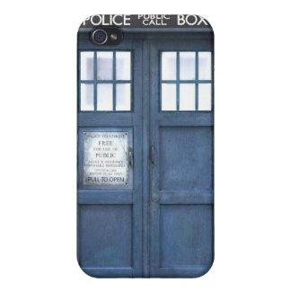 Funny Police Phone Box iPhone 4/4S Cases