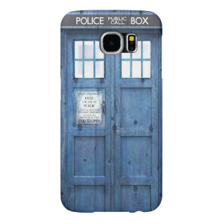 Funny Police phone Public Call Box Samsung Galaxy S6 Cases