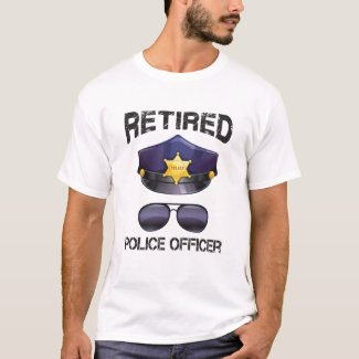 Funny Police Retirement-Give It Arrest T Shirt