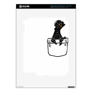 Funny Polish Chicken in a Pocket Skin For iPad 3