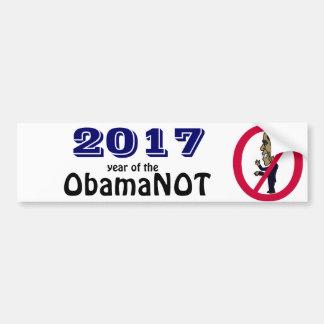 Funny Political Anti Obama Bumper Sticker Car Bumper Sticker
