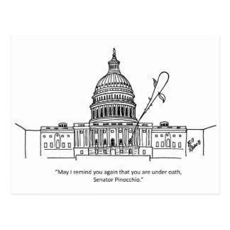 Funny Political Humor Postcard