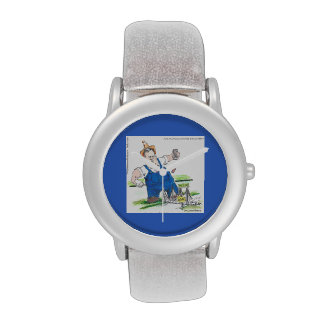 Funny Political King Christie Watch Watch
