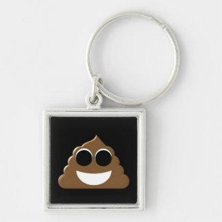 Funny Poop Emoji Keychain
