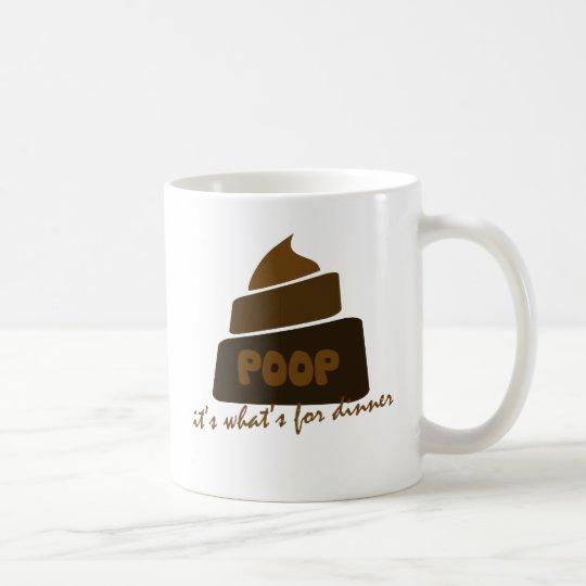 Funny Poop Joke Coffee Mug