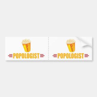 Funny Popcorn Bumper Sticker