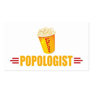 Funny Popcorn Business Card