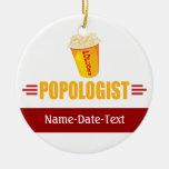 Funny Popcorn Christmas Tree Ornaments