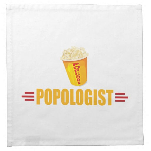 Funny Popcorn Cloth Napkins